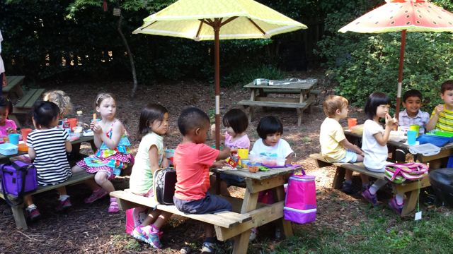 Fourth:  There are manners for picnics just as there are for eating lunch inside.