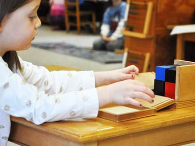 Northwoods Montessori Learning Tools, Binomial and Trinomial Cubes