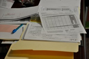 . . .tracking enormous amounts of health and attendance forms. . .