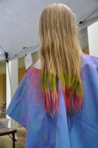 One had a rainbow on her mane!