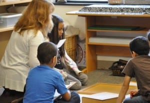 """At the beginning of the lesson, our teacher told us that we would be working with multiples. """"I'm looking for a multiple of 2,3 and 4, a very special one, and I'll show you how to do it,"""" she said."""