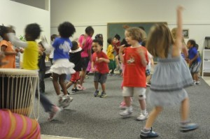 When we think about going to Elementary and doing all of those marvelous things, we just feel like dancing up a storm!