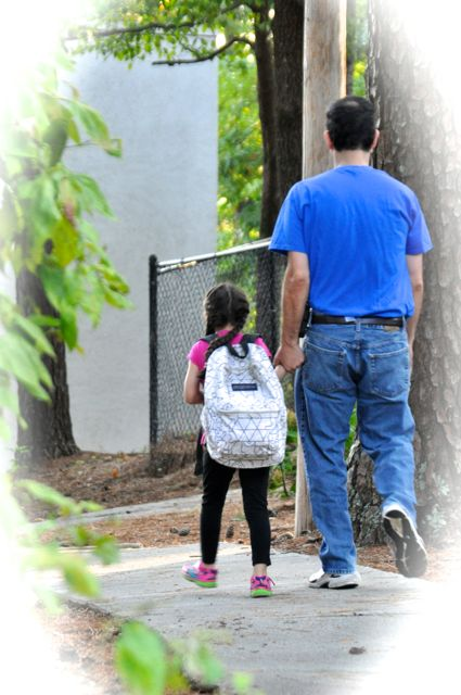 I learned that I can walk all the way up to the door with my parent---even in Elementary.