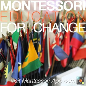 One of the iconic photos used to promote a new phone app about Montessori: https://montessori-app.com/Montessori_App___The_Modern_Montessori_Community.html