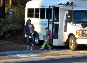 They trust us to be responsible---even on the bus.