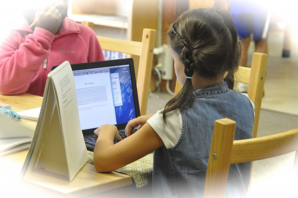 When practiced with keyboarding, we can copy our writings, format them and create final drafts ready for publication!