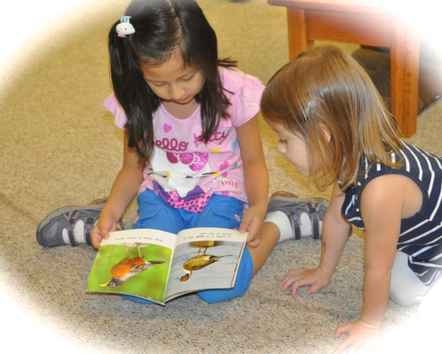I learned that younger children enjoy a story I can read aloud to them.