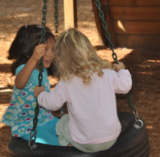 Friendships form at work and at play.