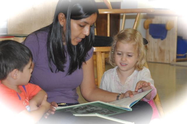 Sharing some time over a favorite book offers opportunities for warmth and affirmation all around.
