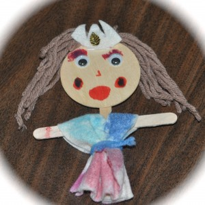 They've been making dolls in Extended Day!