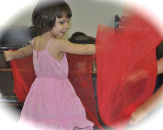 Large motor activity strengthens the child's mind as well, integrating the aesthetic experience and the joy of movement for its own sake with an understanding of the body in space.