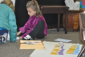 """Reviewing the details of a mathematical process with a friend is fun---and it preserves a child's dignity.  It's a lot easier than going to the teacher to say, """"I forgot."""""""